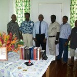 The Gov. General, Sir Frank Kabui and Executive members of SIBTLP