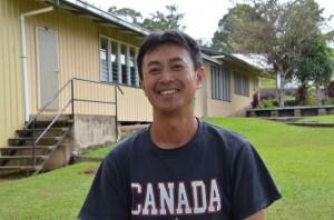 Mr. Matusumaru - Sarah's PE teacher from Japan